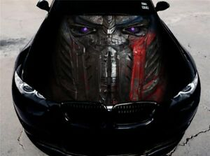 Vinyl Car Hood Wrap Full Color Graphics Decal Transformers Optimus Prime Sticker