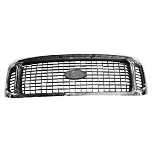 Front Grille Fits 2000 2004 Ford Excursion 104 01641c