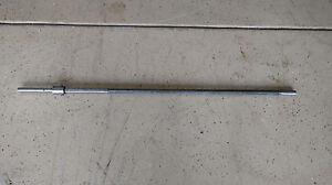 Vintage 10 Sheldon Metal 44 Long Lathe Bed Lead Screw 42 Oal