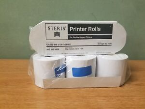 Steris Printer Rolls For Sterilizer Impact Printers 129362 819 2 Packs Of 3