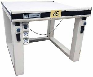 Kinetic Systems 9102 21 11 Vibration Isolation Table Tag 45