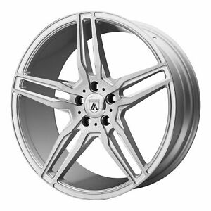 Asanti 19x9 5 Abl 12 Orion Wheel Brushed Silver Carbon Fiber 5x120 45mm 7 02