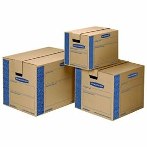 Prime Moving Boxes Tape free Fast fold Assembly Cardboard Packing Post Boxes