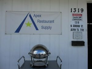 Roll Top Chafing Dish Stainless Steel Commercial Catering 3459