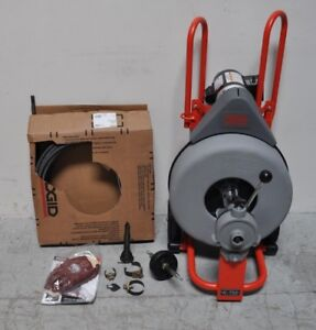 Ridgid Drain Cleaning Machine 5 8 x100 With Cable With Tools 42007