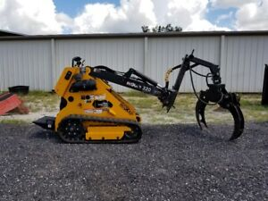Boxer 320 Mini Skid Steer Loader W Branch Manager Grapple Ready To Work