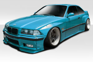 Duraflex Circuit Wide Body Kit 8 Piece For 1992 1998 Bmw 3 Series M3 E36 2dr