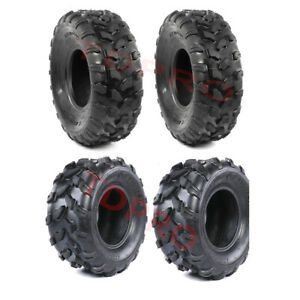 Front Tires 19x7-8 + Rear tires 18x9.5-8 for UTV ATV 200CC 250CC QUAD GO KART
