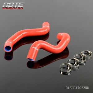 2pcs For 2005 2011 Scion Toyota Tc 2az Fe 2 4l Silicone Radiator Hose Clamps