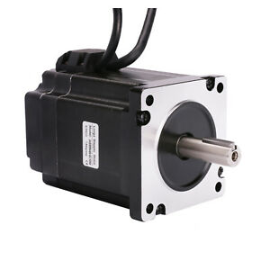 Nema34 Closed loop Stepper Motor 121mm 7 5n m 1062 Oz in 1000 Line Encoder