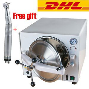 18l Medical Autoclave Steam Sterilizer Dental Lab Sterilizers Equipment