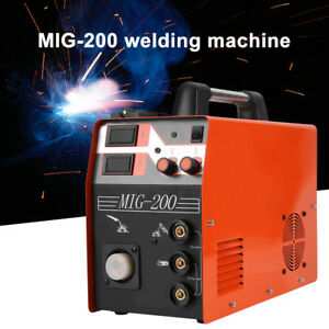 Mig Welder Gas Gasless Mig Welding Machine Stick Mma Lift Tig 3 In 1 Welder Ams