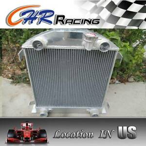 Aluminum Radiator For Ford Model A W Flathead Engine 1928 1929