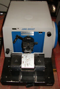 Leica Reichert Jung Biocut 2030 2035 Manual Rotary Microtome W Knife