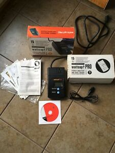 Watts Up Pro Power Analyzer And Data Logger 100 Complete In Box working