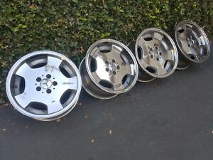 Mercedes Rs85 Wheels Rims R107 W126 W124 R129 W123 W124 Amg Brabus Bbs Rs90 Rs80