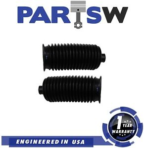 2 Pc New Rack And Pinion Bellow Boots Kit For Chevrolet Gmc Lexus Toyota