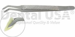 Albrecht Tweezer Pointed End Root Splinter Forceps By Dental Usa 5104