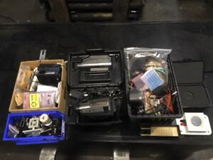 Laser Lot Of Miscellaneous Peripherals And Tooling
