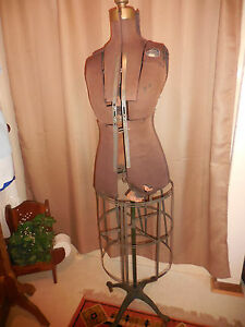 Antique Acme Dress Form
