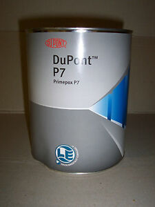 Dupont 2k Epoxy Off white Primer Filler P7 4 Litre Primpox Bare Metal Surfacer