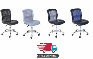 Comfortable office Chair Mainstays Vinyl And Mesh Task Multiple Colors New