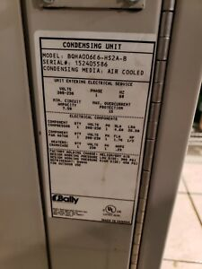 Bally 5x8 Walk In Cooler Complete With Refigeration 8 Months Old