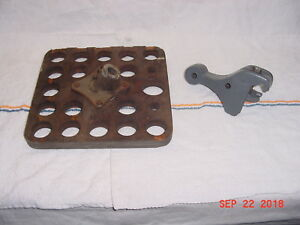 10 South Bend Lathe Taper Attachment Clamp Collet Rack
