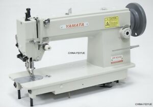 Yamata Fy5318 Industrial Walking Foot Sewing Machine With Kd Table stand motor