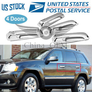 For 2009 2018 Ram 1500 Chrome Door Handle Covers