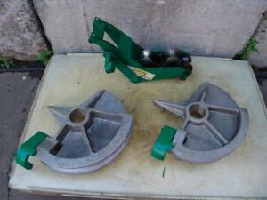 Greenlee 1 1 2 And 2 Inch Imc Bending Shoes And Roller Support For 555 Bender 2