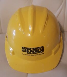 Bullard Hard Hat Construction Yellow Apac Adjustable 6 1 2 8