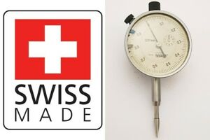 Brown Sharpe Tesa Dial Test Indicator 001mm Swiss