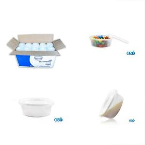 Edi Food Savers Storage Containers Wholesale 250 Sets Microwavable Translucent
