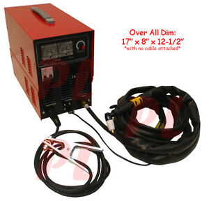 36 Amp Air Plasma Dc Inverter Welder Cutting Cutter Machine 8mm Thickness