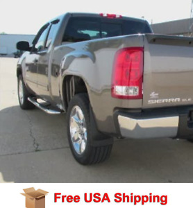 Weathertech No Drill Mud Flaps For 2014 2018 Gmc Sierra New Free Shipping Usa