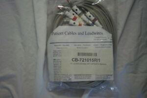Schiller 10 Lead Ekg At1 At2 At4 Banana Cb 721015r 1 Patient Cables