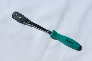 Snap On 1 4 Dr Ratchet Flex Sealed Head Teal Hard Long Handle Thlfd72 New