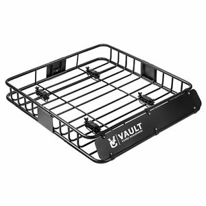 Vault Cargo Management Universal Roof Basket By Heavy Duty Cargo Roof Carrier