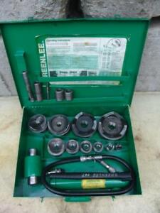 Greenlee 7310 1 2 To 4 Hydraulic Knock Out Punch