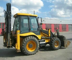 2013 Backhoe Loader Mst 2126 Hours Clean And Very Well Maintained