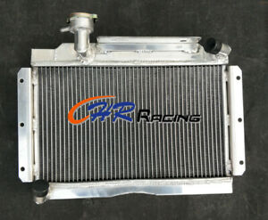 56mm Aluminum Radiator For Mg Mga 1500 1600 1622 De Luxe 1956 1962 1957 Manual