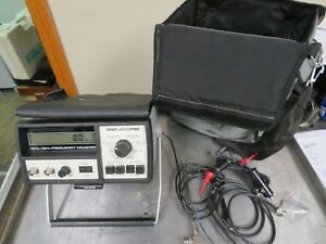 Sencore Model Fc71 Frequency Counter 10 Hz 1 Ghz Nb15