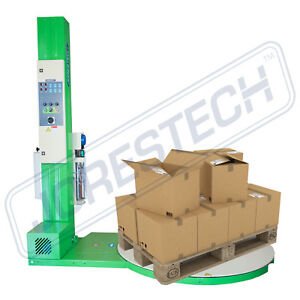 New Pallet Wrapper Stretch Wrapping Machine Free Shipping Jorestech 1500p
