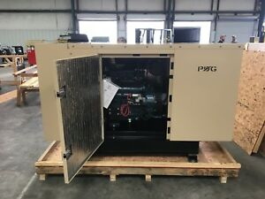 30 Kw Diesel Generator Kubota Enclosed W 65 Gallonfuel Tank Auto Start