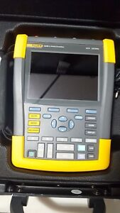 Fluke Biomedical 190m 4 Medical Scopemeter 4ch 200mhz Portable Oscilloscope