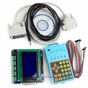 5axis Cnc Router Mill Breakout Interface Board Lcd Display Keypad gcode Record