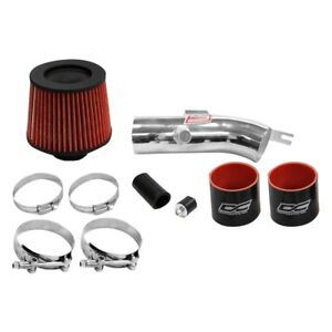 For Nissan Altima 07 12 Air Intake System Aluminum Powder Coated Silver Short