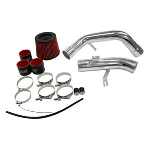 For Mitsubishi Eclipse 06 11 Air Intake System Aluminum Powder Coated Silver