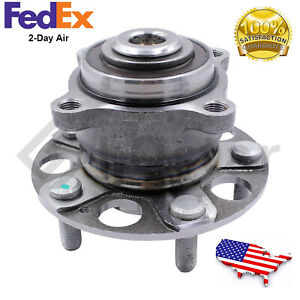 Rear Wheel Hub Bearing Assembly Fits 09 12 Acura Tsx 08 13 Honda Accord